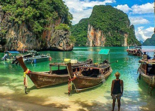 in viaggio da bangkok a krabi